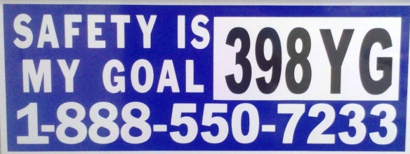 7X20 decal 7233