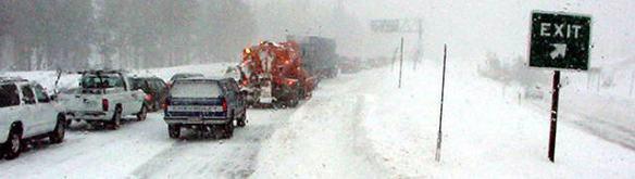 blizzard traffic day
