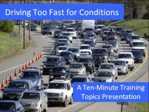 Driving Too Fast PPT
