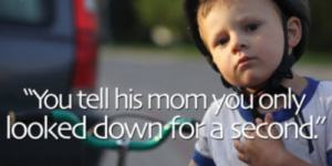 You tell his mommy