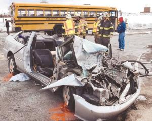 FredPoust School bus crash
